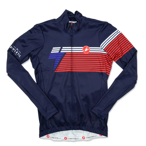 Men's National Collection LS Jersey - Navy