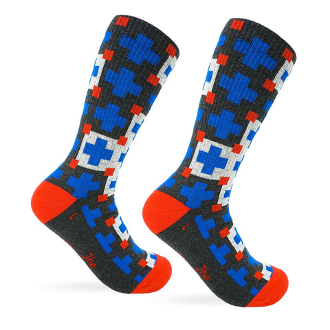 Cabin Comfort Socks - Lakeside Blue