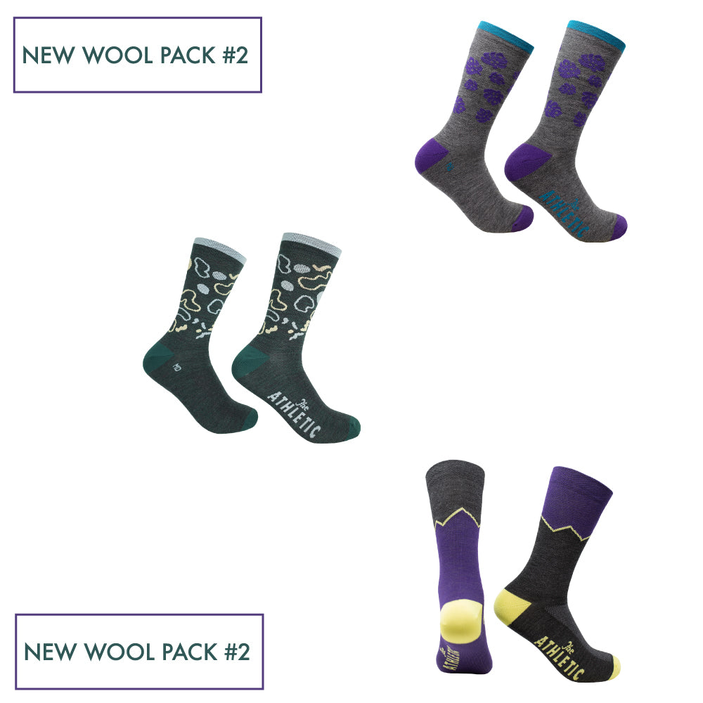 New Wool Sock Pack #2