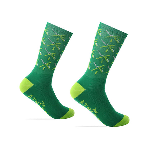 PDX Futbol Fan Sock - Home - Green
