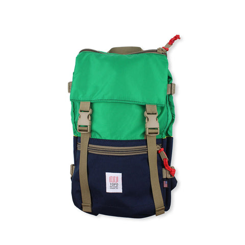 Topo Designs Rover Pack - Kelly Green / Navy Blue