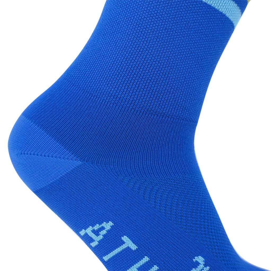 Triple Double Thin Weight Sock - Royally Blue
