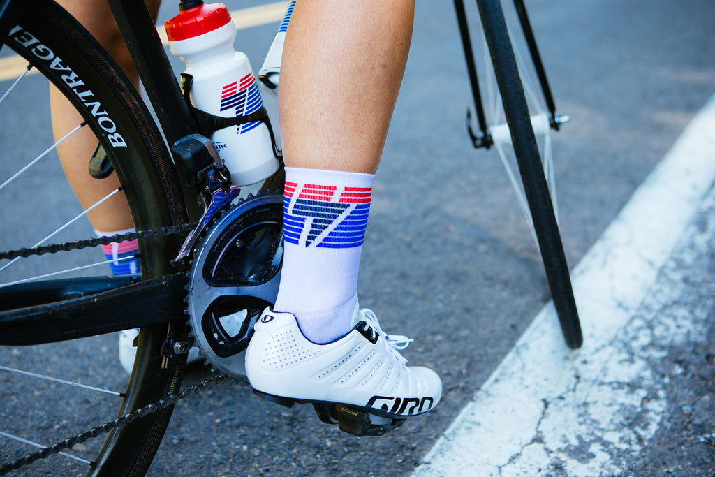 National Collection Sock - White