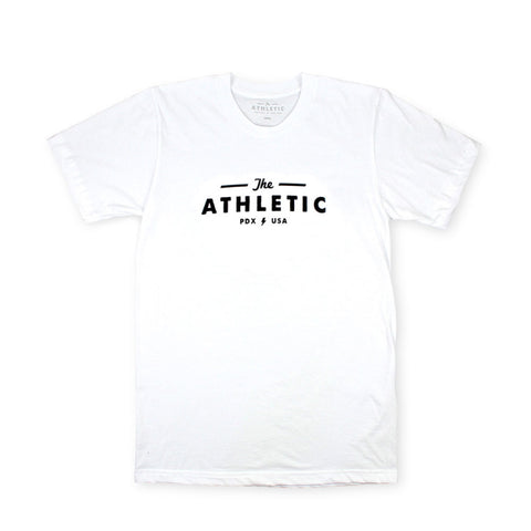 The Athletic Logo Shirt - White
