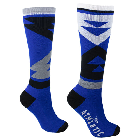 Quilt Tall Wool Socks - Super Royal