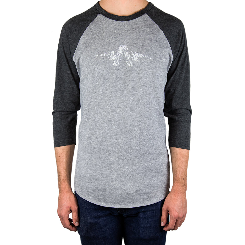 Splash & Splatter 3/4 Raglan T Heather