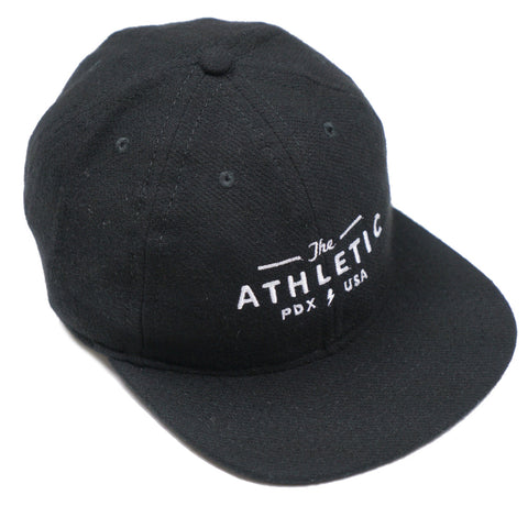 The Athletic X Fair Ends Wool Ball Cap - Black