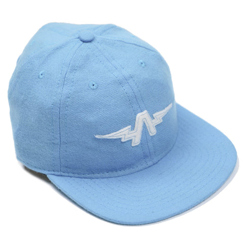 The Athletic X Fair Ends Wool Ball Cap - Powder Blue