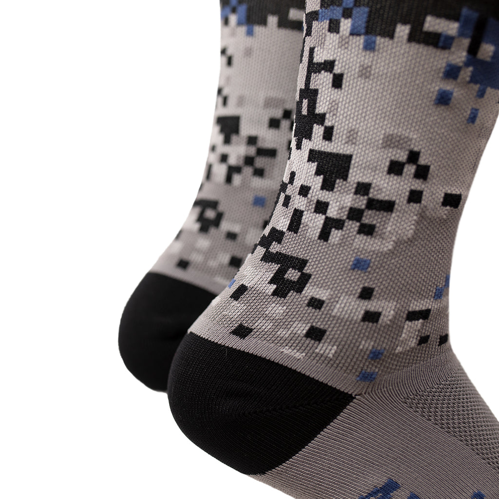 Digi Camo Socks - Black Collection