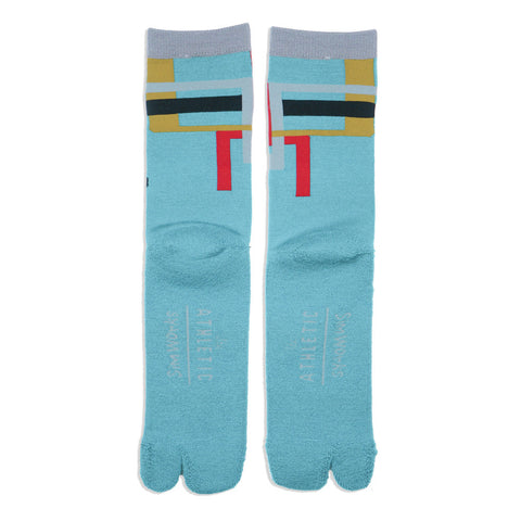 The Athletic x Sim Works Wool Tabi Sock - Teal