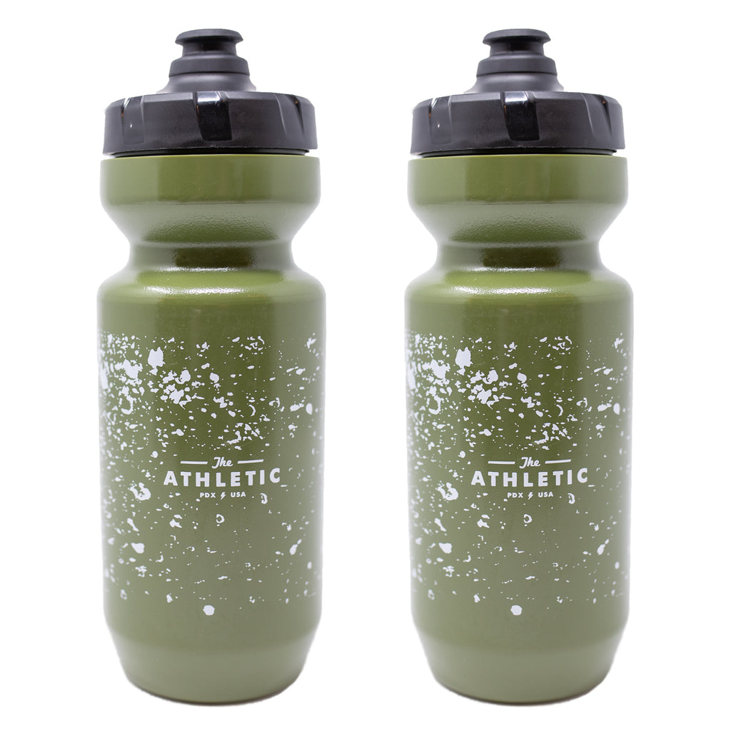 Splash & Splatter Olive -  Purist Water Bottle