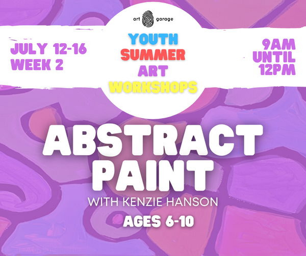 Abstract Paint (Ages 6-10) AM