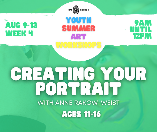 Creating Your Portrait (Ages 11-16) AM