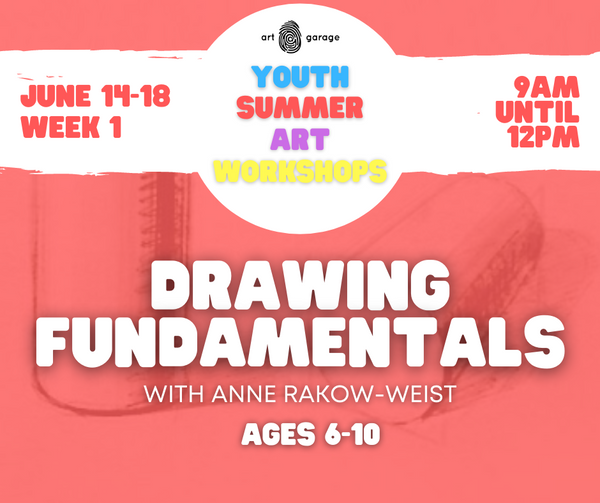 Drawing Fundamentals (Ages 6-10) AM
