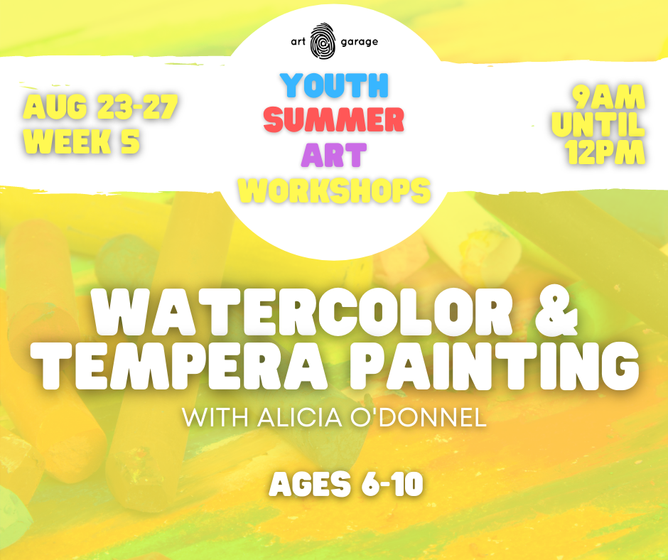 Watercolor & Tempera Painting (Ages 6-10) AM