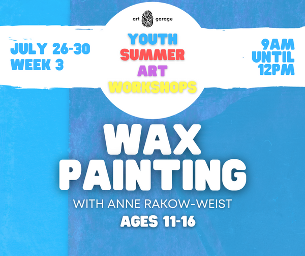 Wax Painting (Ages 11-16) AM