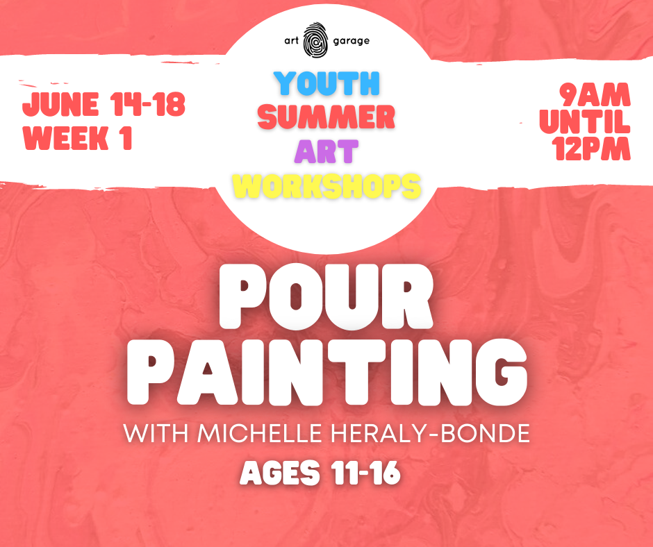 Pour Painting (Ages 11-16) AM