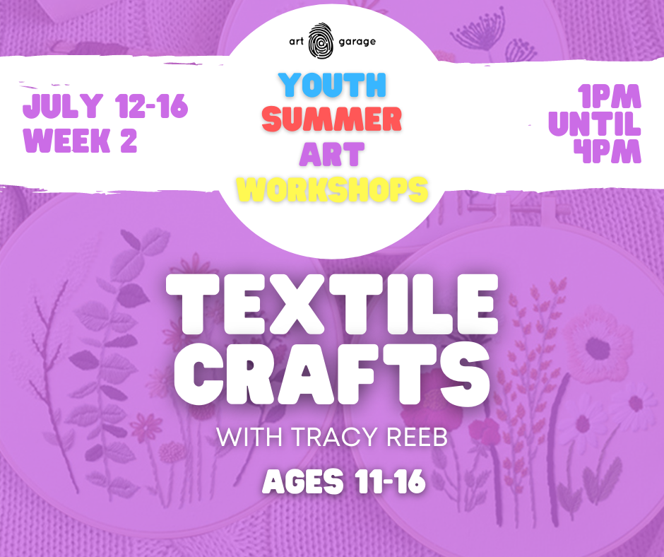 Textile Crafts (Ages 11-16) PM