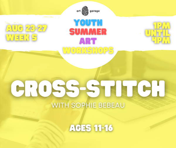 Cross-Stitch (Ages 11-16) PM