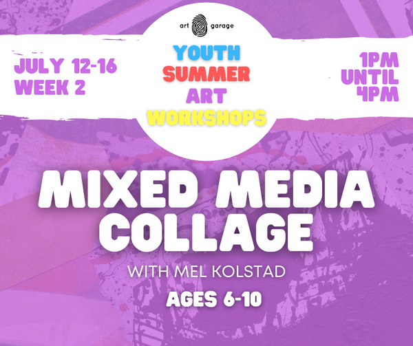 Mixed Media Collage (Ages 6-10) PM