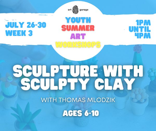 Sculpture With Sculpty Clay (Ages 6-10) PM