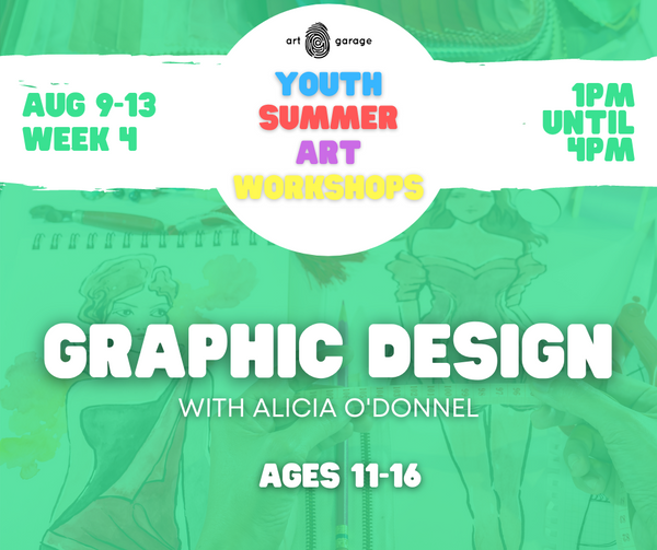 Graphic Design (Ages 11-16) PM