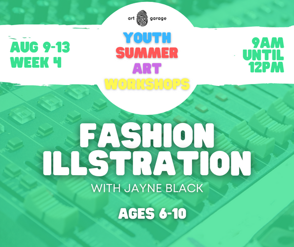 Fashion Illustration (Ages 6-10) AM
