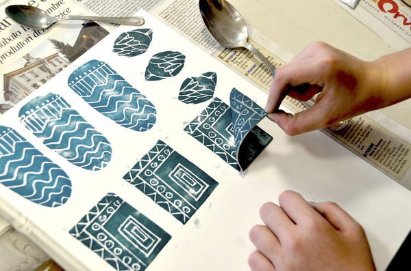 Drypoint & Monoprint Printmaking (Ages 11-16) PM