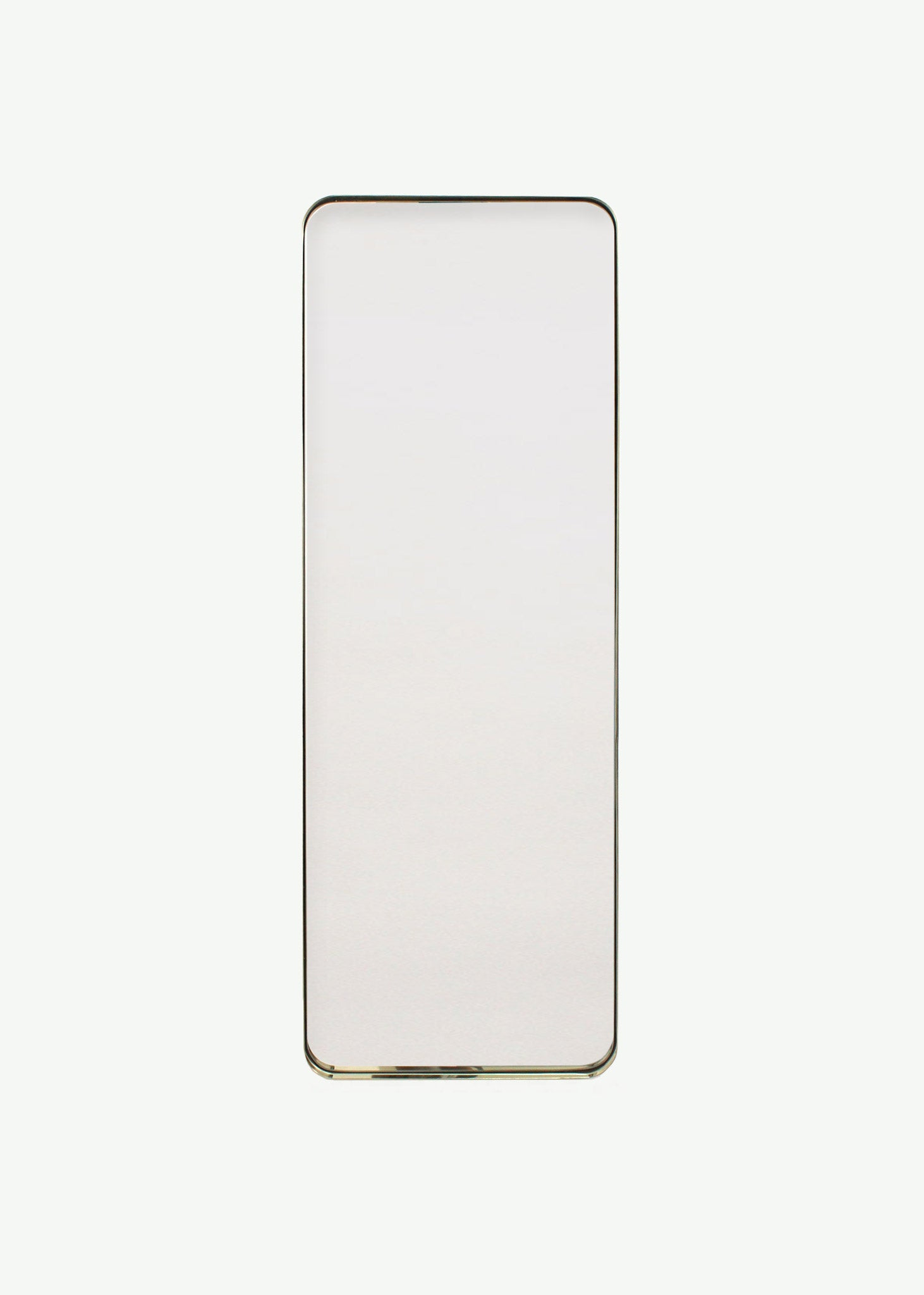 Brass Deep Frame Soft Edge Mirrors