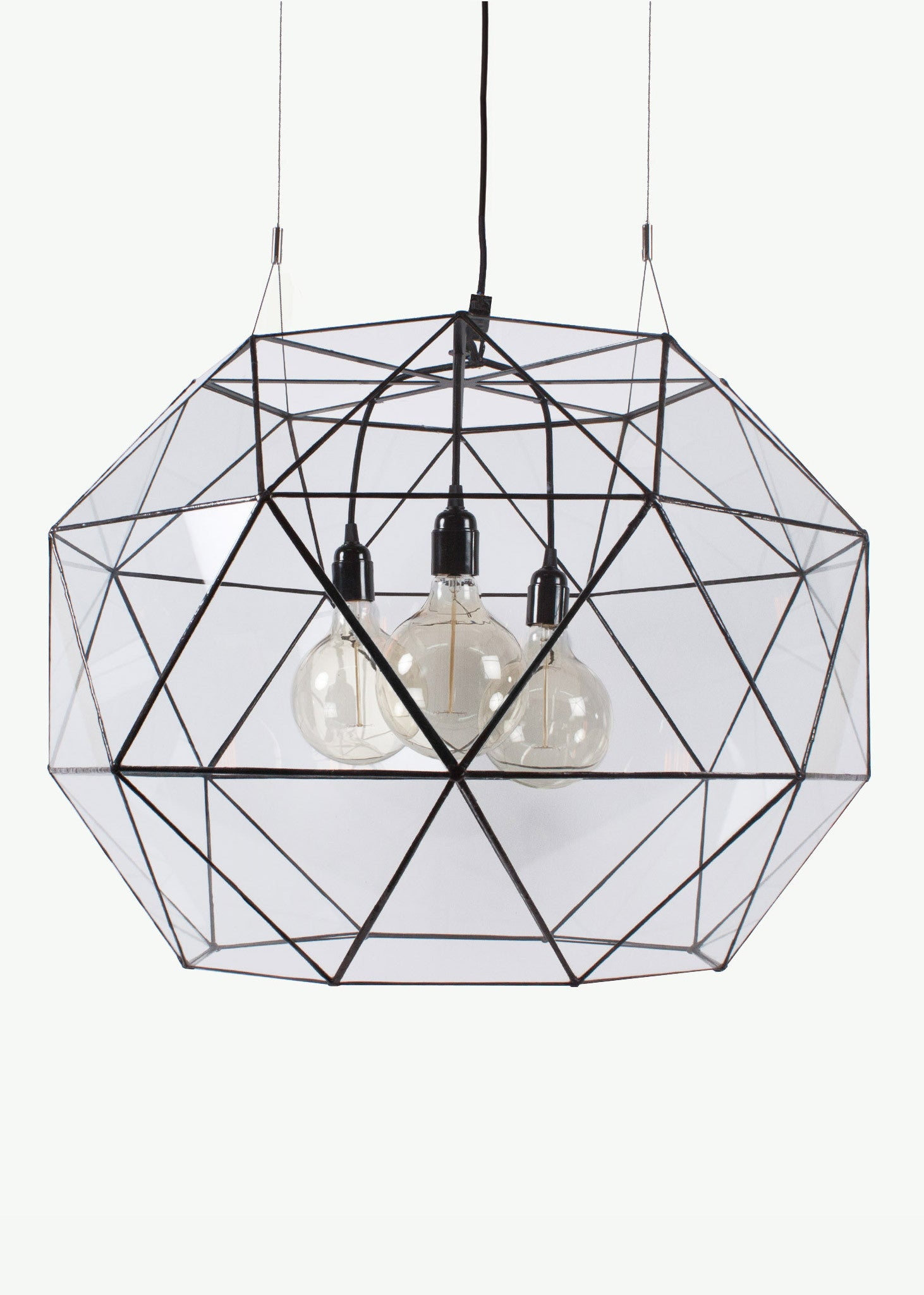 Arkivio Glass Chandelier Light