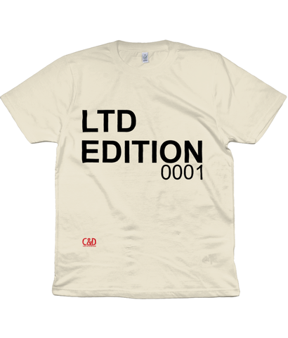 Men's/Unisex T-Shirt LTD EDITION 0001