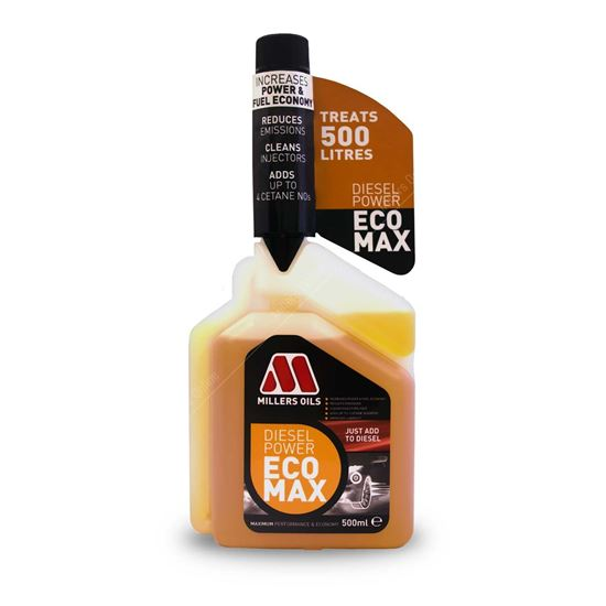 Millers Oils Diesel Power ECOMAX Fuel Treatment - 500ml