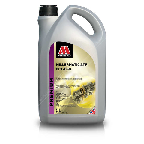 Millers Oils Millermatic ATF DCT- DSG Automatic Transmission Fluid - 5L
