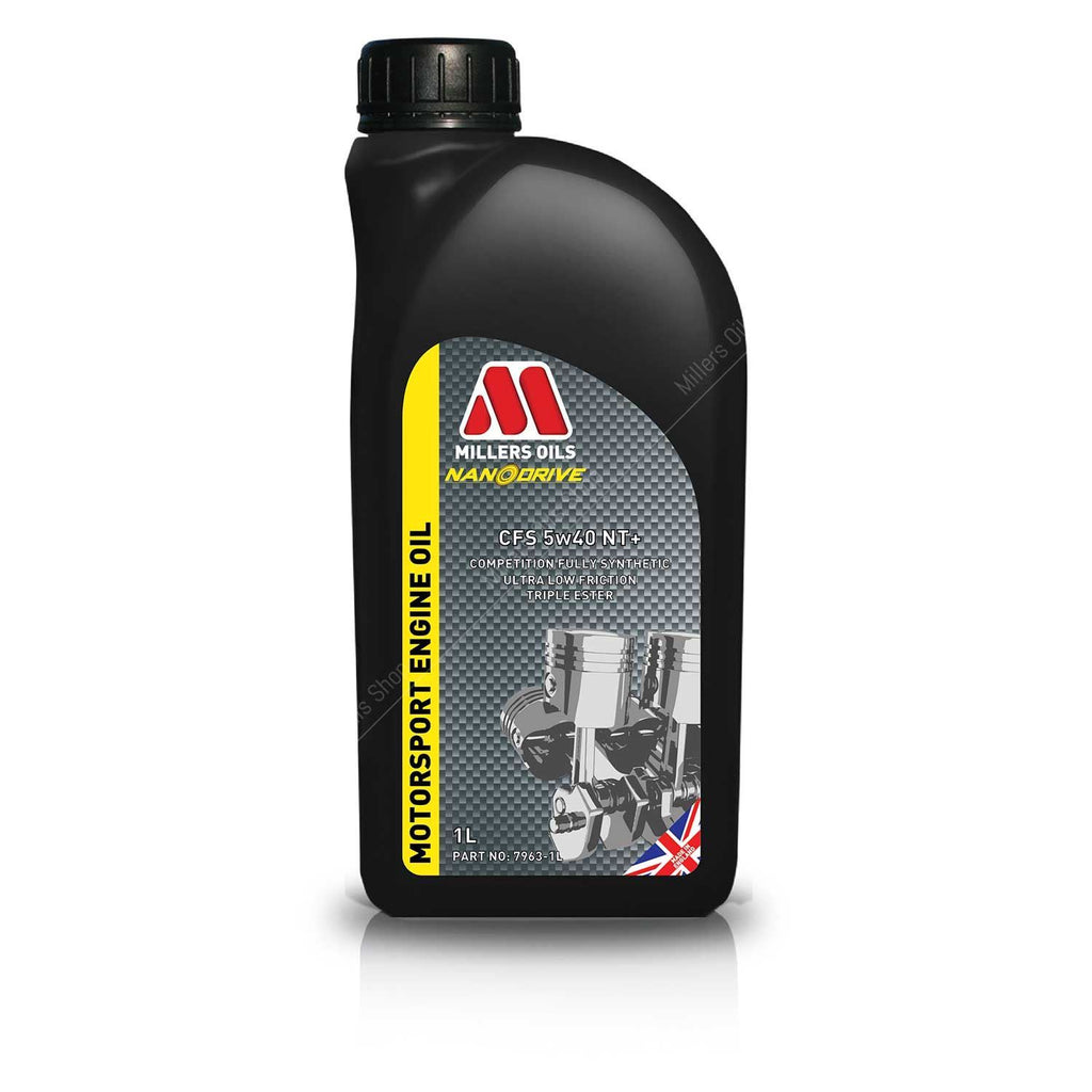 Millers Oils NANODRIVE CFS 5w40 NT+ Engine Oil - 1L