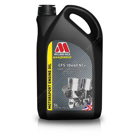 Millers Oils NANODRIVE CFS 10w60 NT+ Engine Oil - 5L