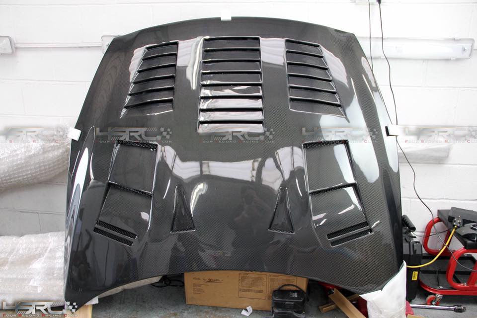 Nissan GT R35 Full Carbon Fast Radiating Bonnet - 4 Second Racing Club