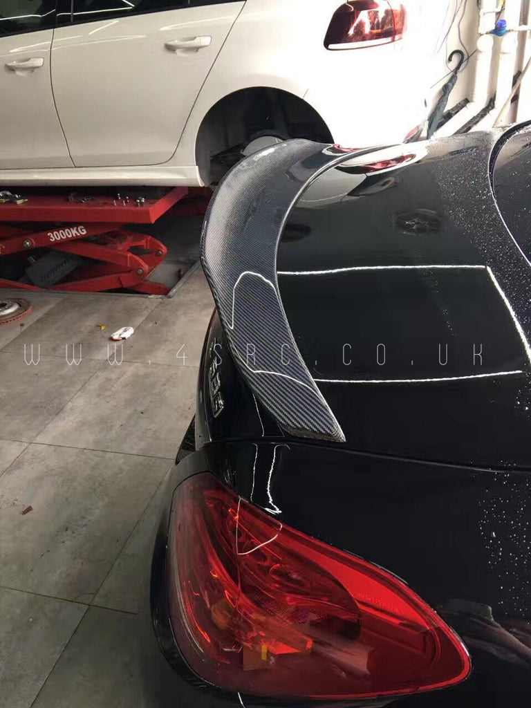 C63 C63S AMG W205 Duck Tail Carbon Fibre Spoiler - 4 Second Racing Club