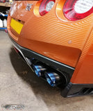 Nissan GT R35 full titanium exhaust tips / tail pipes