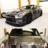 Nissan GT-R35 GT1 Dry Carbon Wing Mirror - 4 Second Racing Club