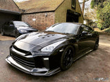 MY17 Nissan GTR35 TS style carbon bonnet - 4 Second Racing Club