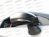 Nissan GT R35 carbon fibre mirror caps half cover - 4 Second Racing Club