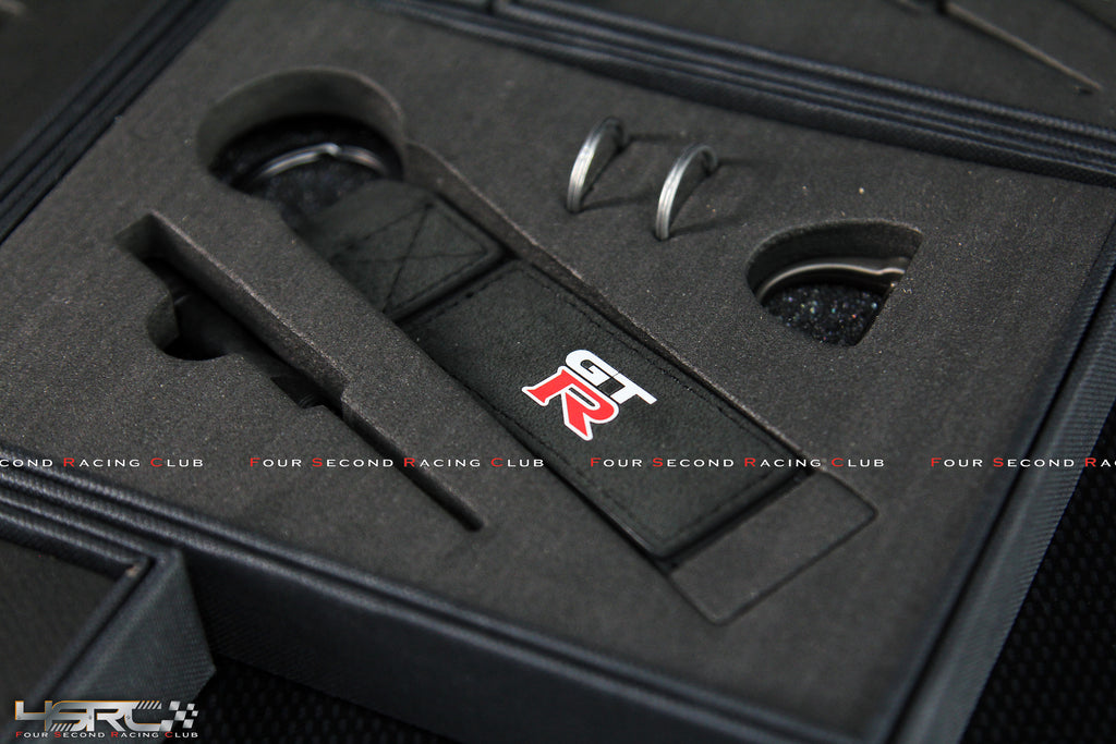 GTR Alcantara key ring set