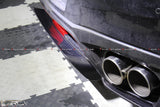 LB style carbon rear diffuser add-on