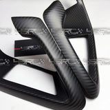 2008-2019 Nissan GT R35 Full size dry carbon handle covers - 4 Second Racing Club