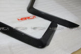 BMW 4 Series 2014 - 2017 Carbon Fibre Front Bumper Canards - 4 Second Racing Club
