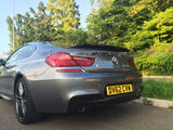 BMW 6 Series 2012 - 2016 Carbon Fibre Rear Spoiler - 4 Second Racing Club