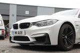 BMW F80 M3, F82 F83 M4 M Performance Style Carbon Front Splitter - 4 Second Racing Club