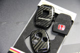 Honda Mugen dry carbon 3 buttons key fob case - 4 Second Racing Club