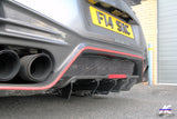 Nissan GT R35 2012-2019 GTR R35 4SRC Carbon Fibre Diffuser Blades - 4 Second Racing Club