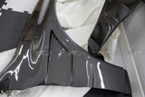 Mitsubishi Evolution Lancer Carbon Fibre Front Fender Wings - 4 Second Racing Club